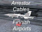 Arrestor Cables for Finnish Airports